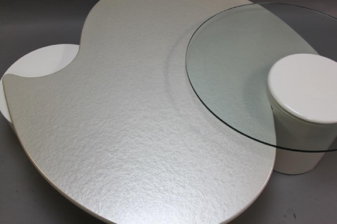 Rougier (Canada) Amoeba Form Coffee Table - 7