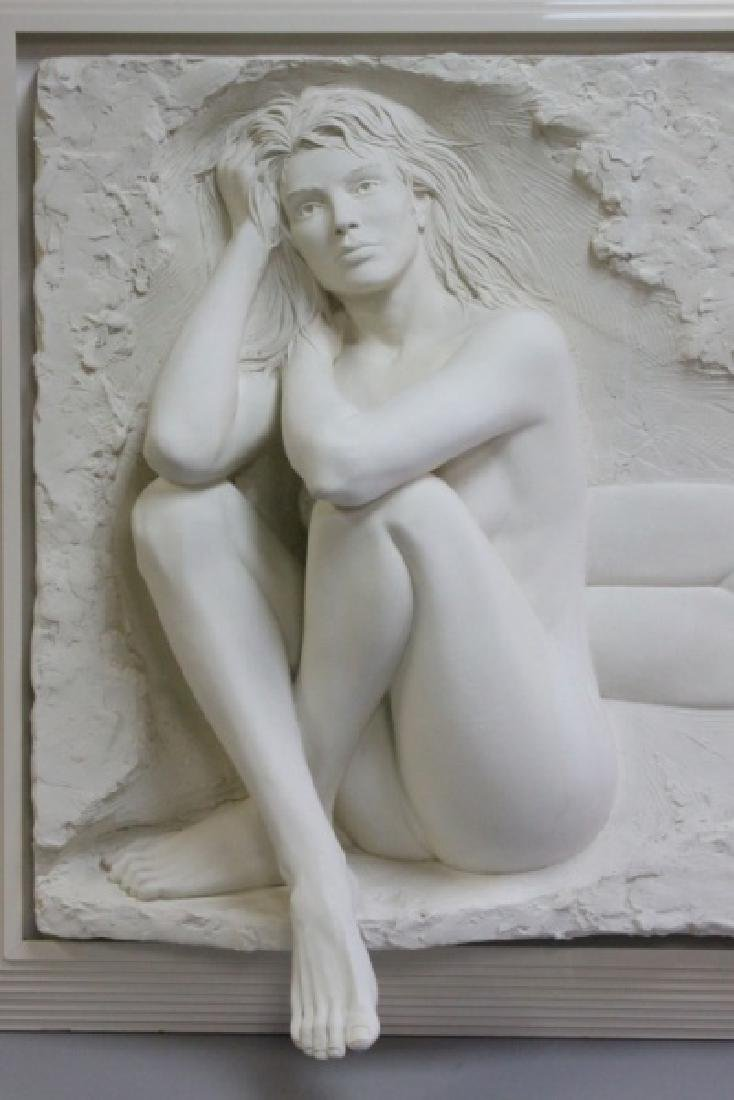 Bill Mack Bonded Sand Relief Wall Sculpture, Nudes - 2