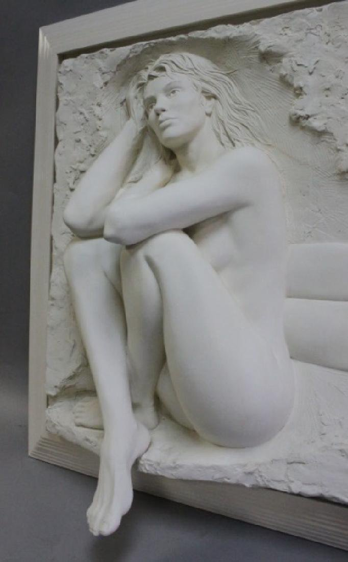 Bill Mack Bonded Sand Relief Wall Sculpture, Nudes - 4
