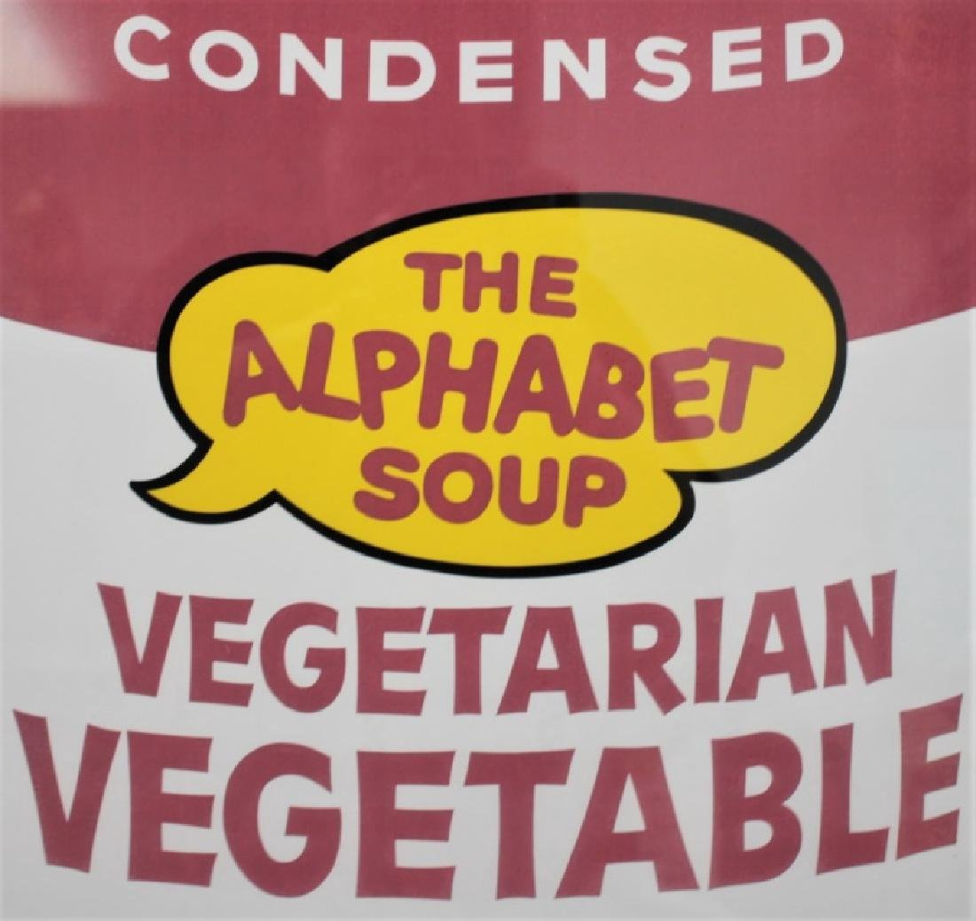 Andy Warhol Campbell's Vegetable Soup Poster 1969 - 4
