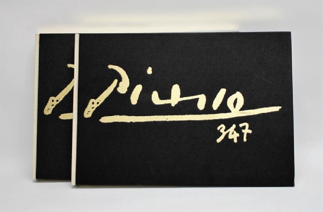"1970 Picasso ""347"" 1st Edition 2-Volume Engravings - 3"