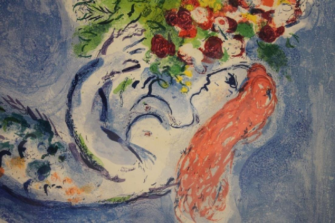 """Marc Chagall Mermaid Poster """"Bay of Angels"""" - 5"""
