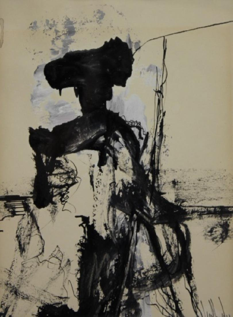 Gino Hollander (1924-2015) Abstract Portrait of Matador