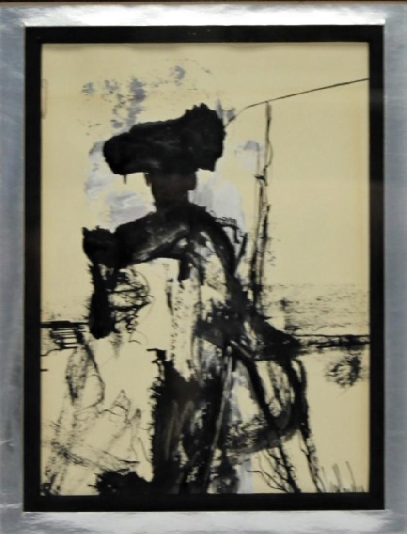 Gino Hollander (1924-2015) Abstract Portrait of Matador - 2