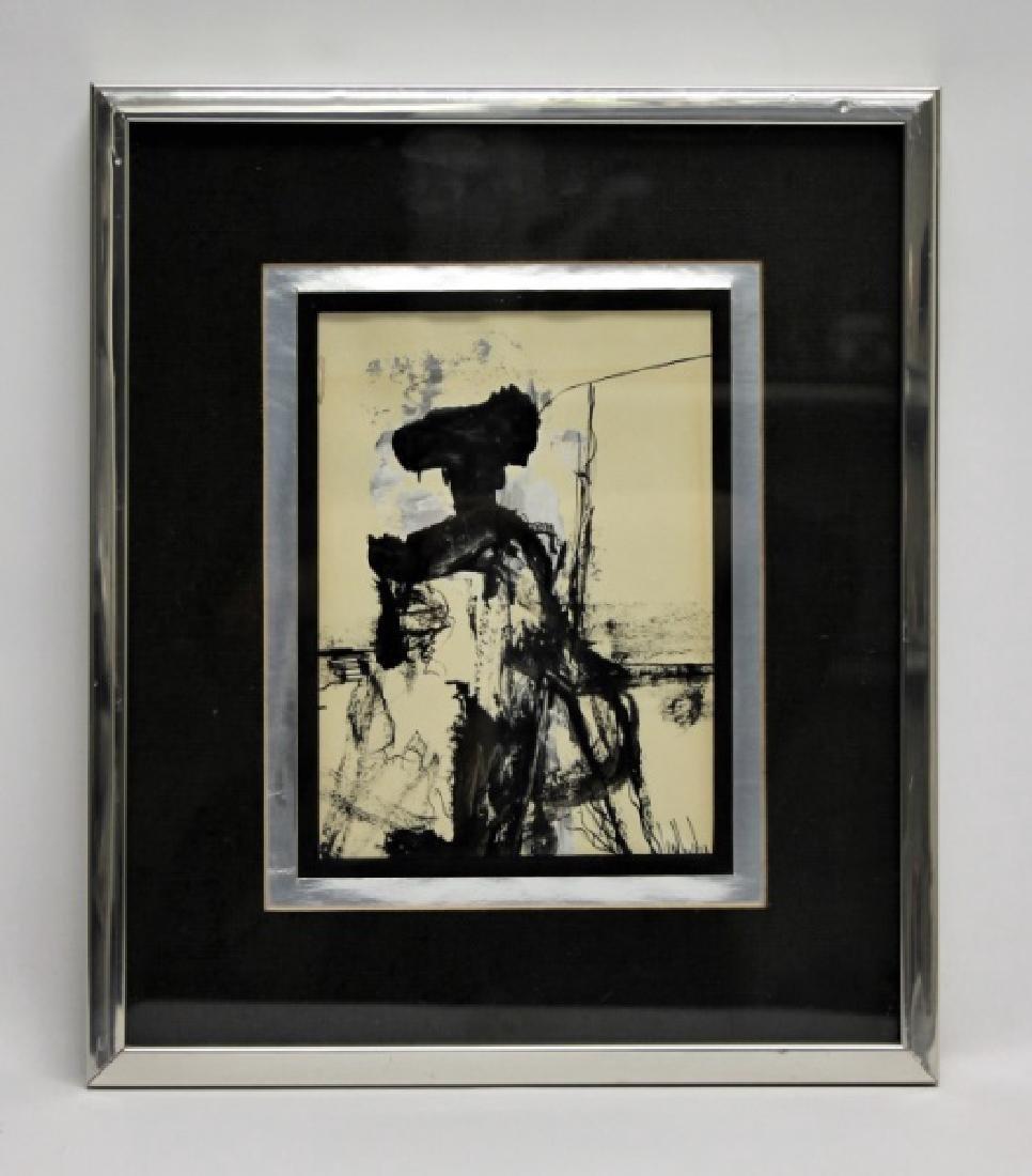 Gino Hollander (1924-2015) Abstract Portrait of Matador - 3