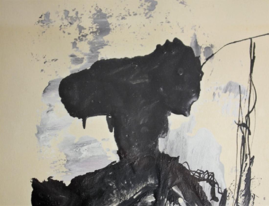 Gino Hollander (1924-2015) Abstract Portrait of Matador - 4