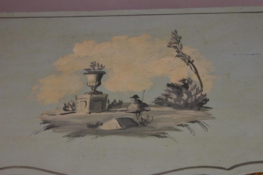 Hollywood Regency Venetian Painted Side Cabinet - 7