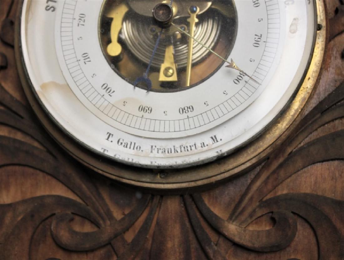 Art Nouveau Black Forest Germany Barometer - 10