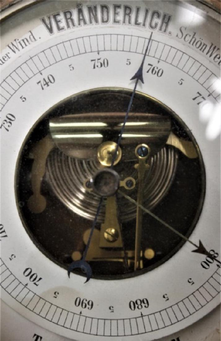 Art Nouveau Black Forest Germany Barometer - 6