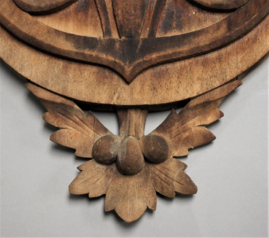 Art Nouveau Black Forest Germany Barometer - 8
