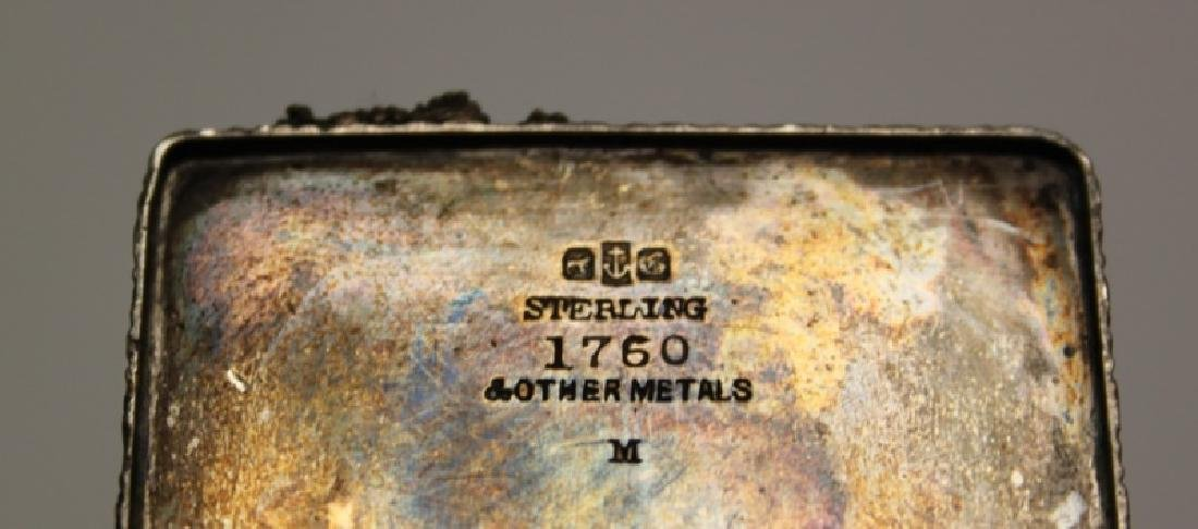 Pair of Gorham Sterling Silver Inkwells - 6