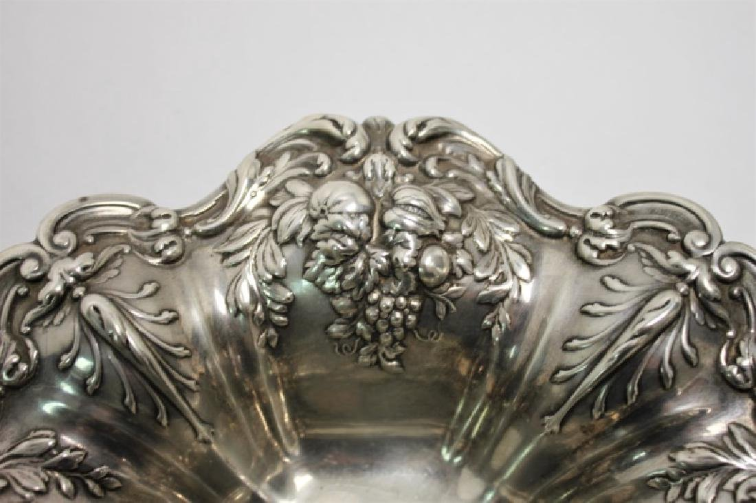 "Reed and Barton ""Francis I "" Repousse Fruit Bowl - 5"