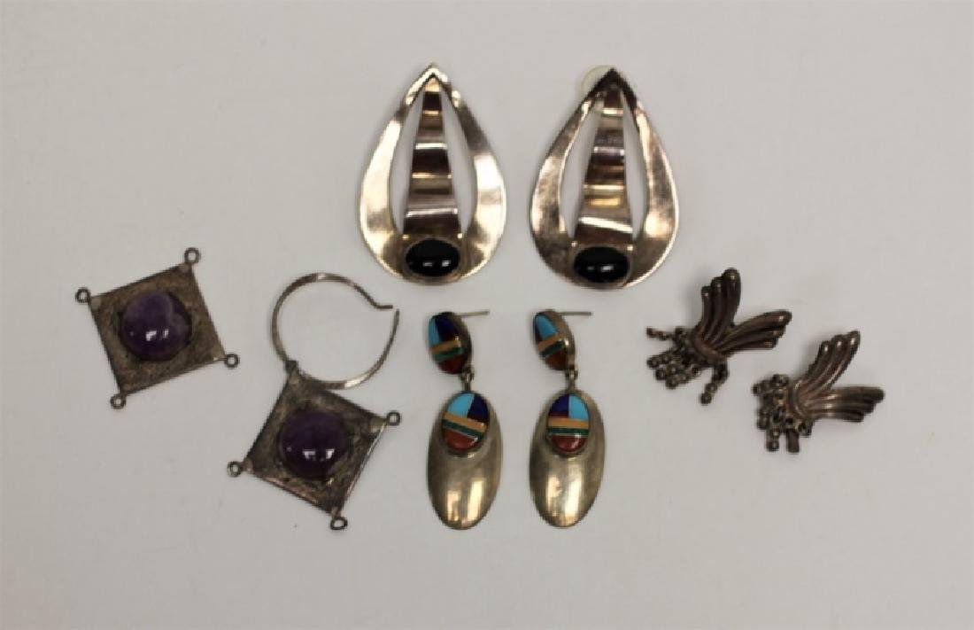 (22) Pcs Sterling Jewelry Earrings & Necklaces - 5