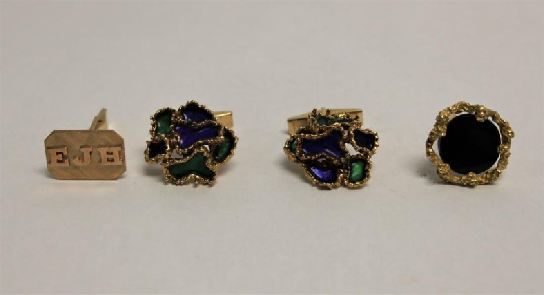 (11)Pc 14k 18k Gold Watches Rings Cufflinks Charms - 2