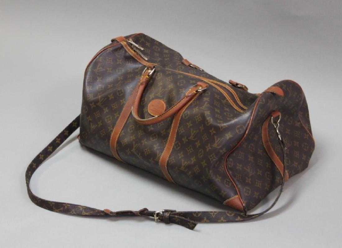 c2b75af9e7d Vintage Louis Vuitton Monogram 55 Keepall Bag