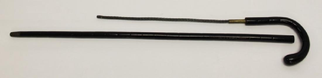 (3) Vintage Hidden Weapon Tactical Walking Sticks - 9