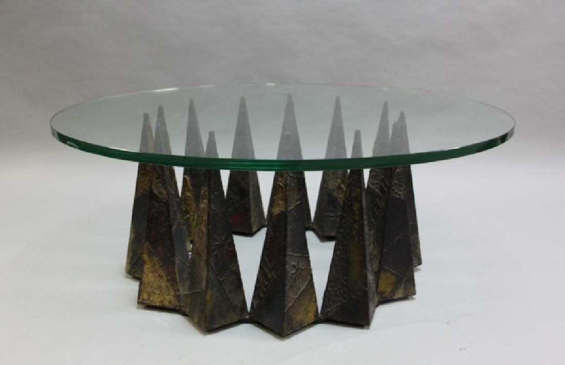 Paul Evans Welded & Enameled Steel Coffee Table
