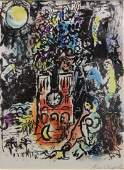 """Marc Chagall (1887-1985) Litho """"The Tree of Jesse"""""""