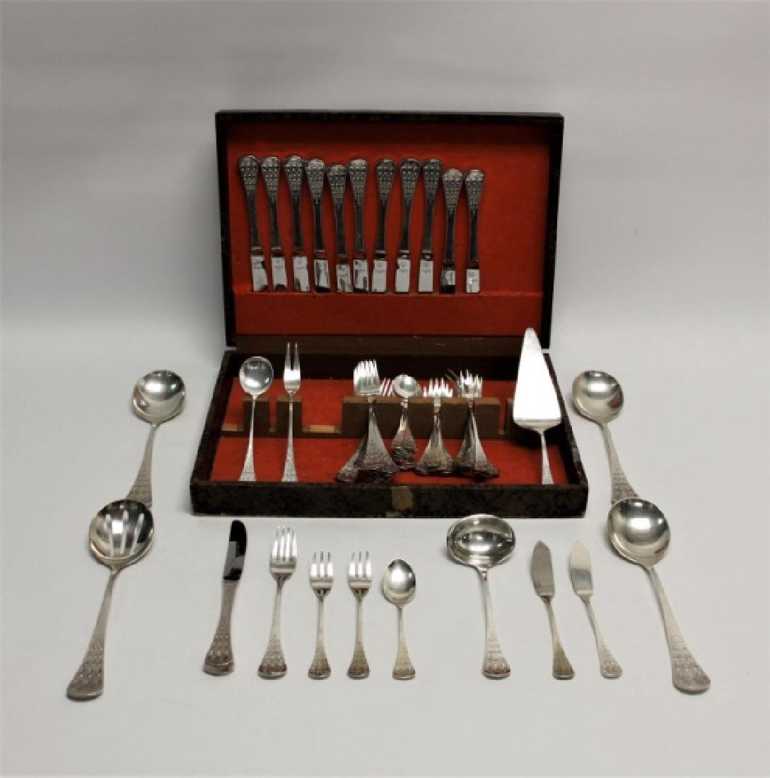 (69) Pc Bjorn Wiinblad Rosenthal Sterling Flatware