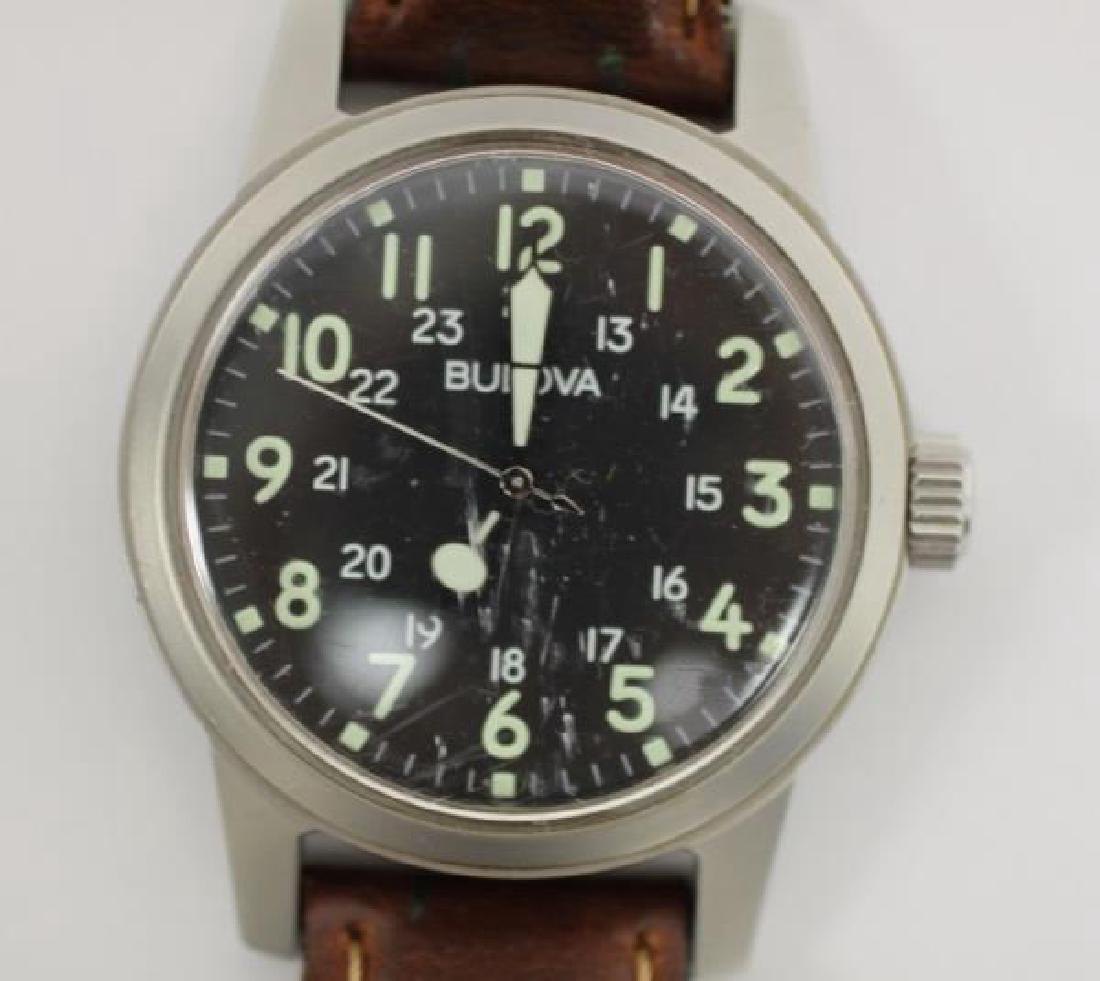Bulova WWII Hack Watch & Ladies Cartier Tank Watch - 2