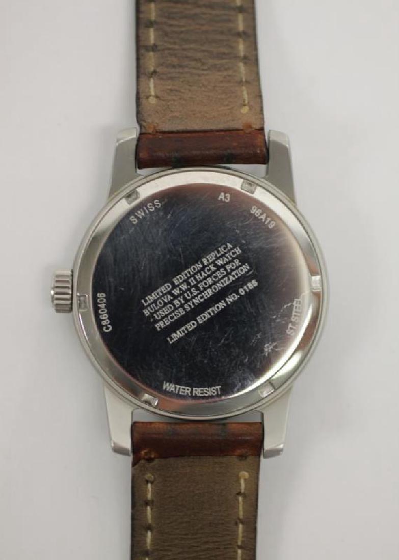 Bulova WWII Hack Watch & Ladies Cartier Tank Watch - 3