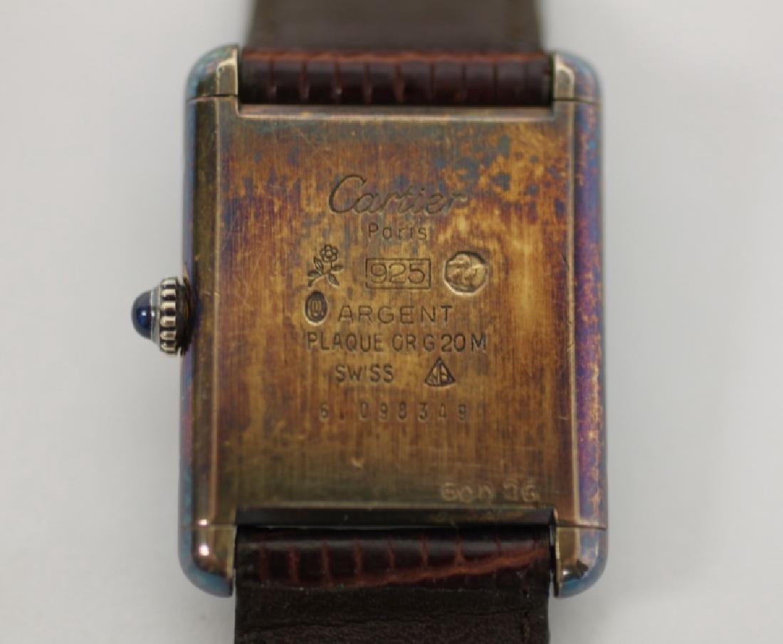 Bulova WWII Hack Watch & Ladies Cartier Tank Watch - 5