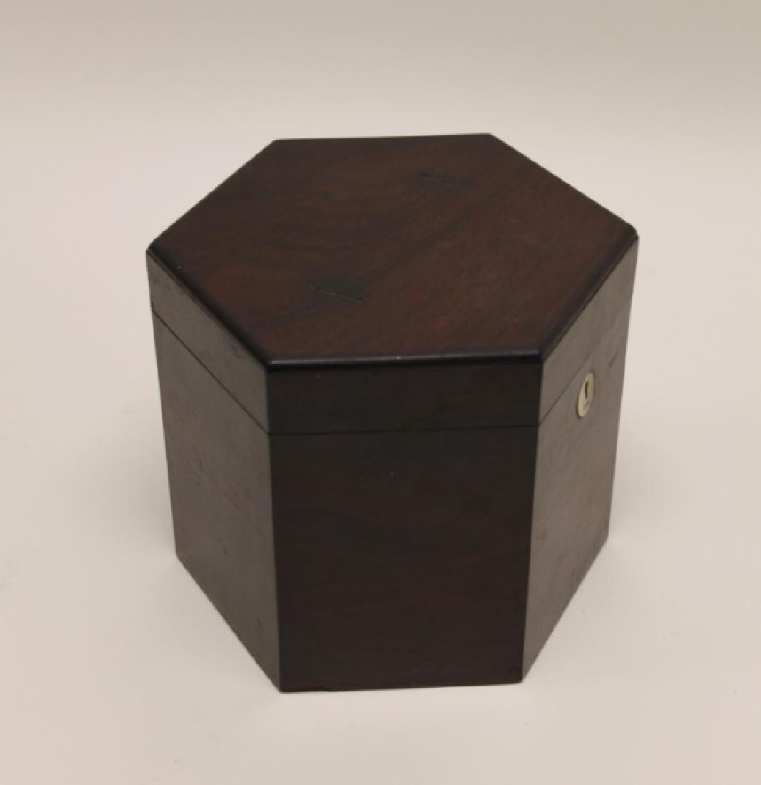 1850 George Case, London Rosewood Concertina & Box - 9