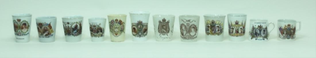 (12)pc English Commemoratives King George V & Mary