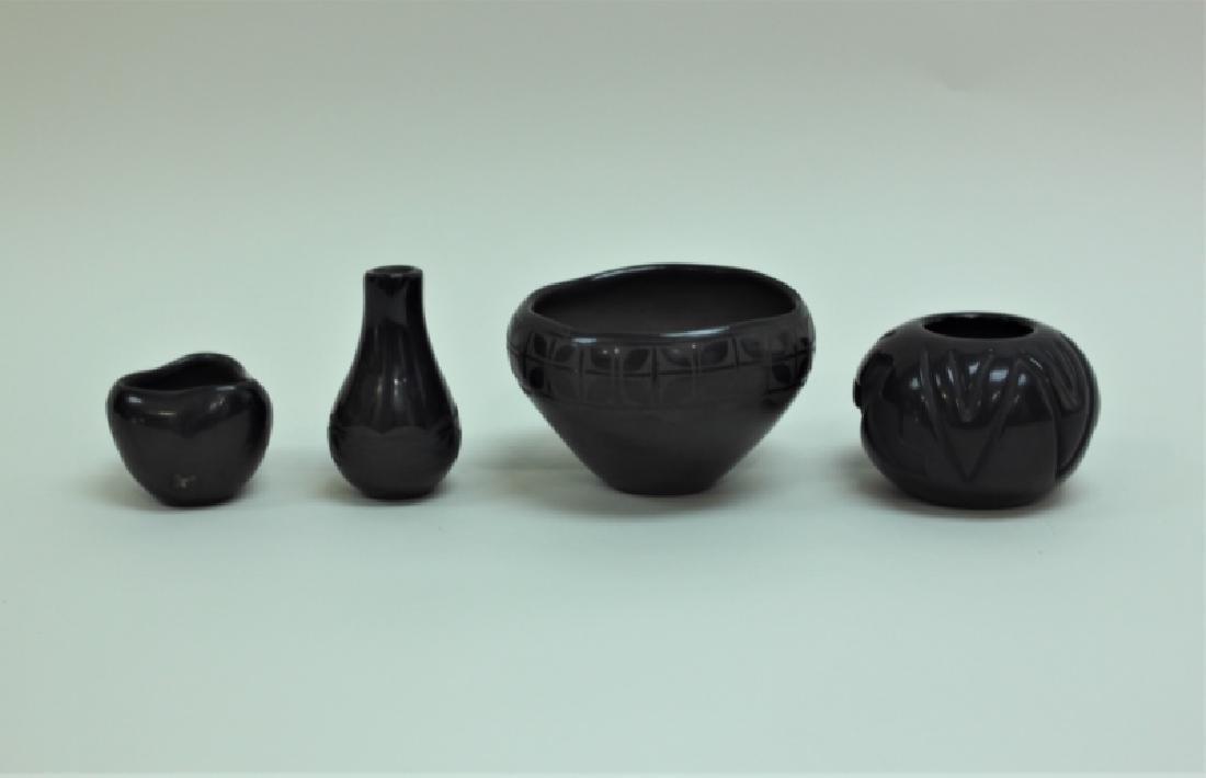 (4)pc Santo Domingo Pueblo Native American Pottery