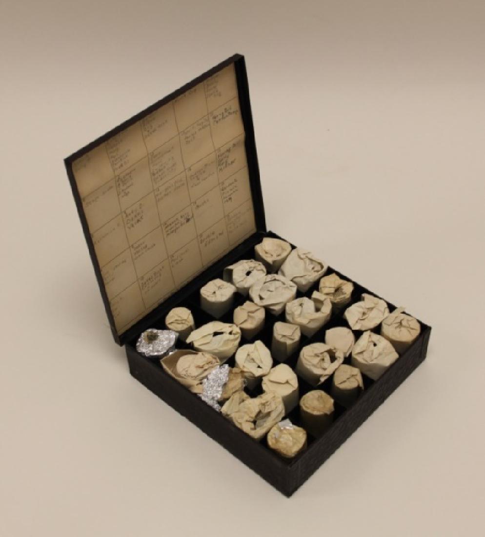 Leica Film Box w(25) ca 1930's Exposed Film Rolls