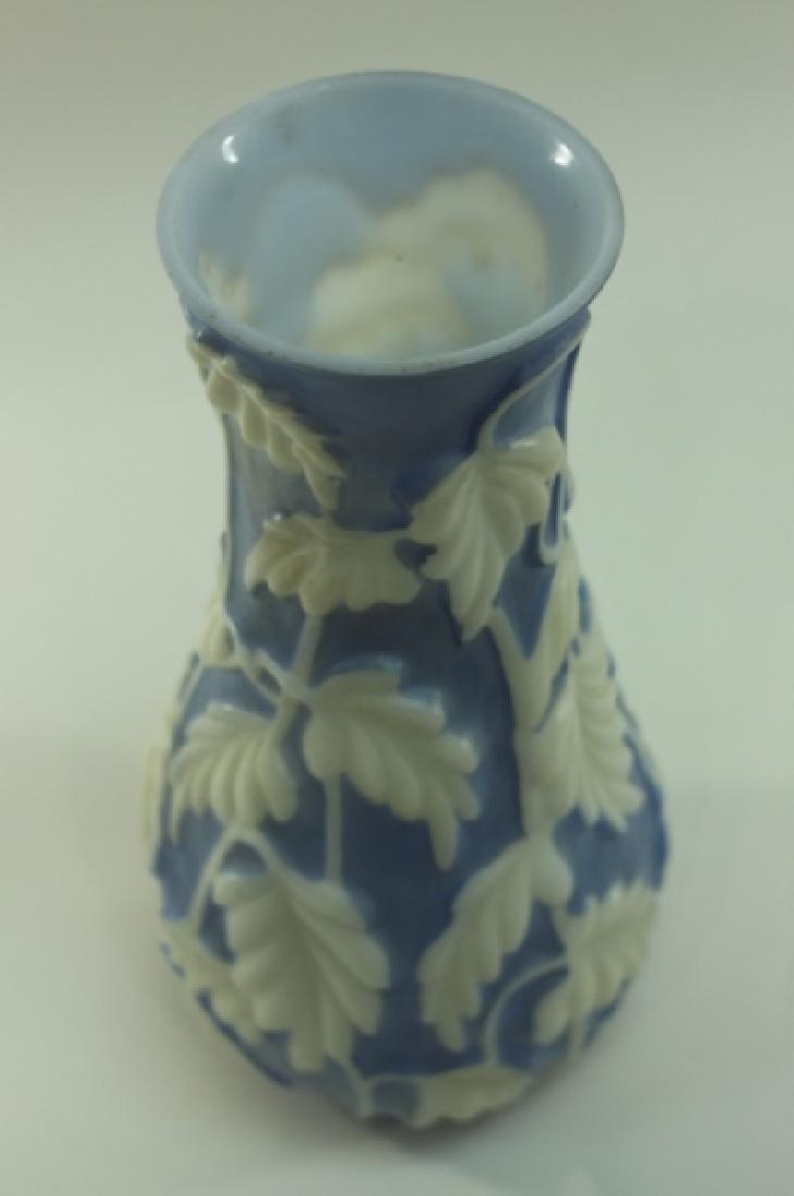 Vintage Phoenix Glass Co Philodendron Vase - 4