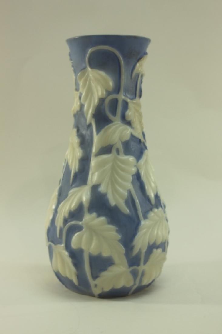 Vintage Phoenix Glass Co Philodendron Vase - 5