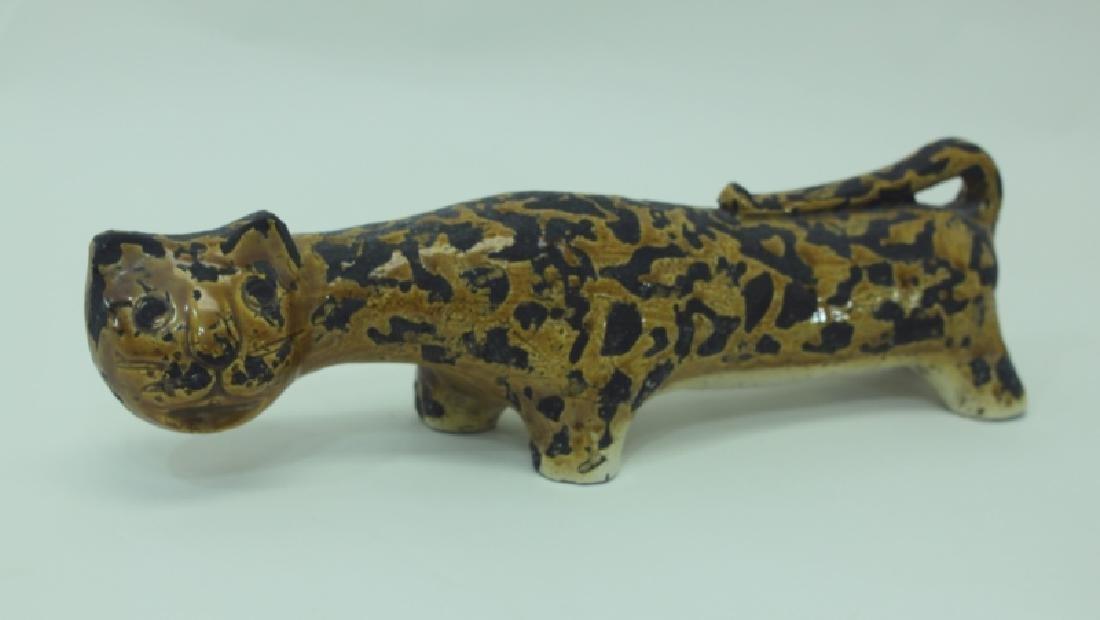 Vintage Rosenthal Netter Italian Pottery Leopard
