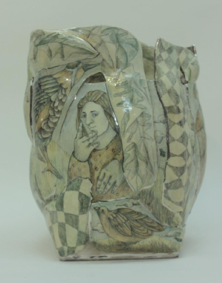 Mary Lou Higgins American, 1926-2012 Art Pottery