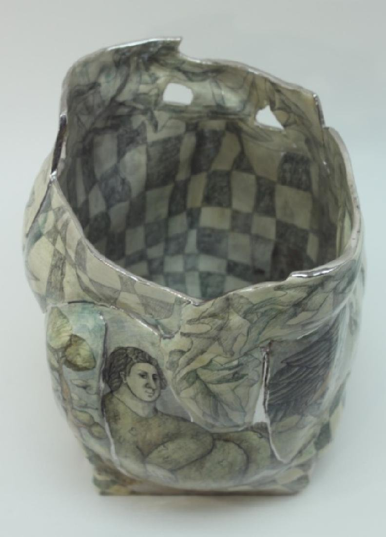 Mary Lou Higgins American, 1926-2012 Art Pottery - 3