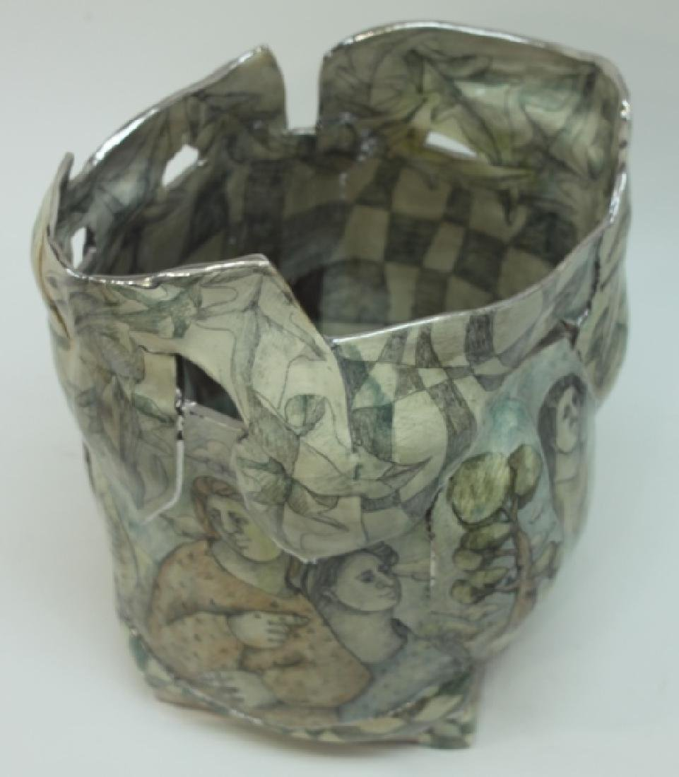 Mary Lou Higgins American, 1926-2012 Art Pottery - 6