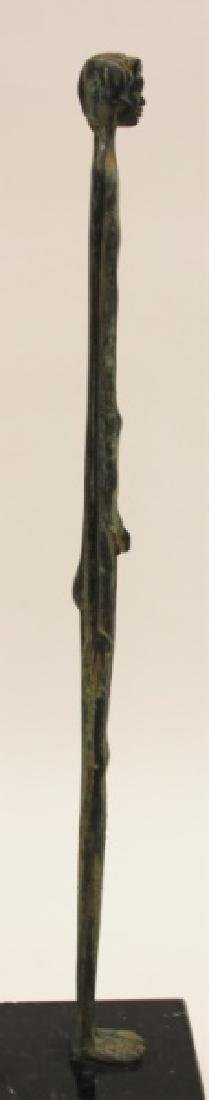 "Etruscan Bronze ""Ombra della Sera"", Elongated Boy - 6"
