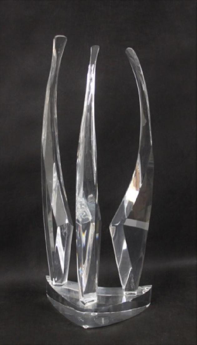Michael Cox Abstract Lucite Sculpture - 5