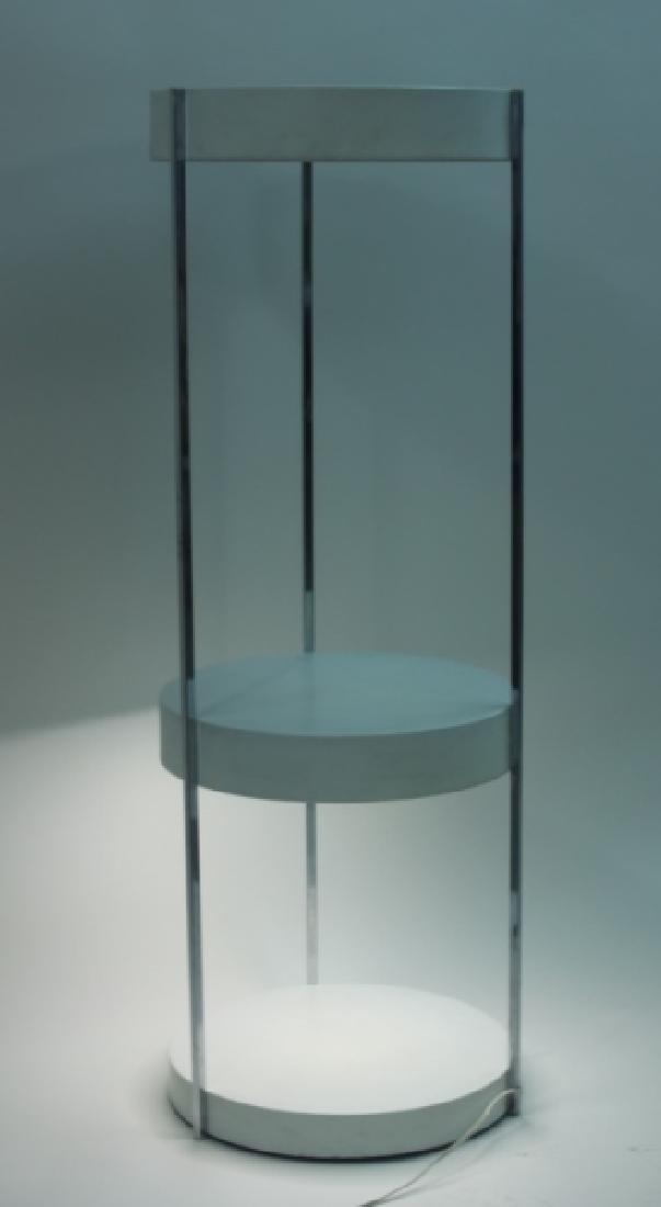 Vintage MCM George Kovaks 2-tier Floor Lamp