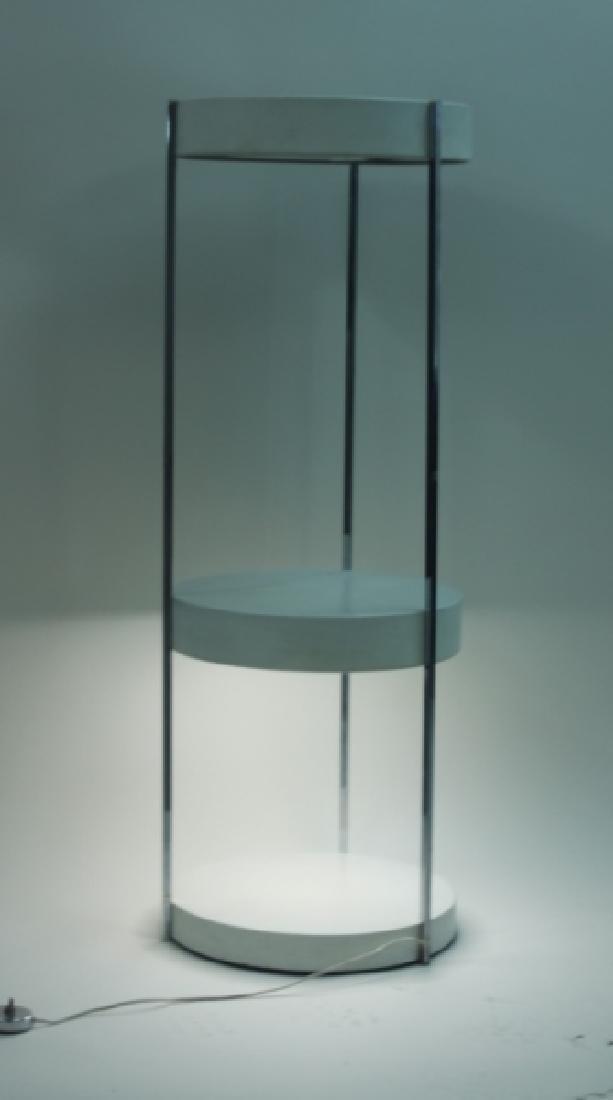 Vintage MCM George Kovaks 2-tier Floor Lamp - 2