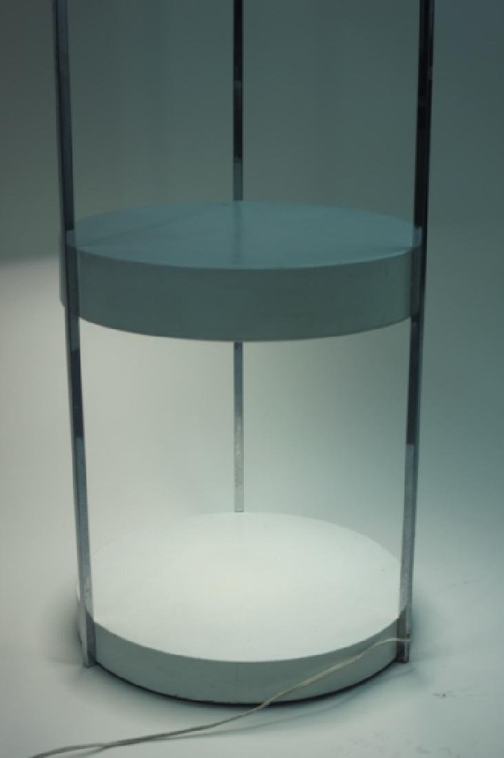 Vintage MCM George Kovaks 2-tier Floor Lamp - 7
