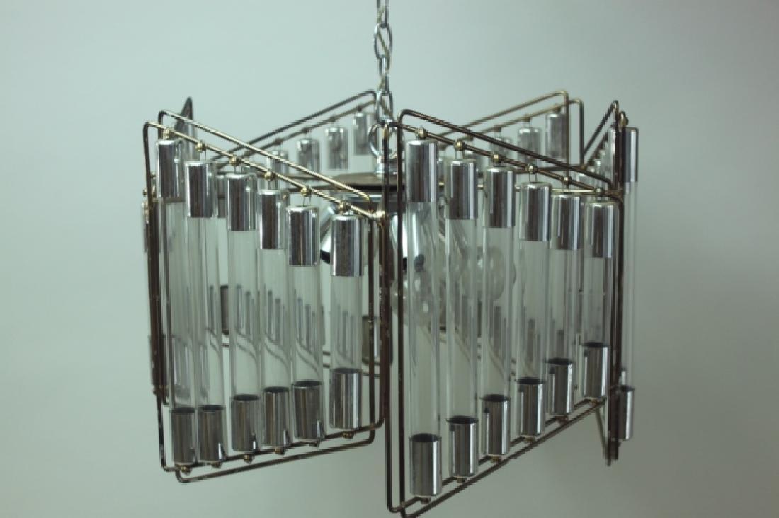 Gaetano Scolari Modernist Hanging Light Fixture - 2