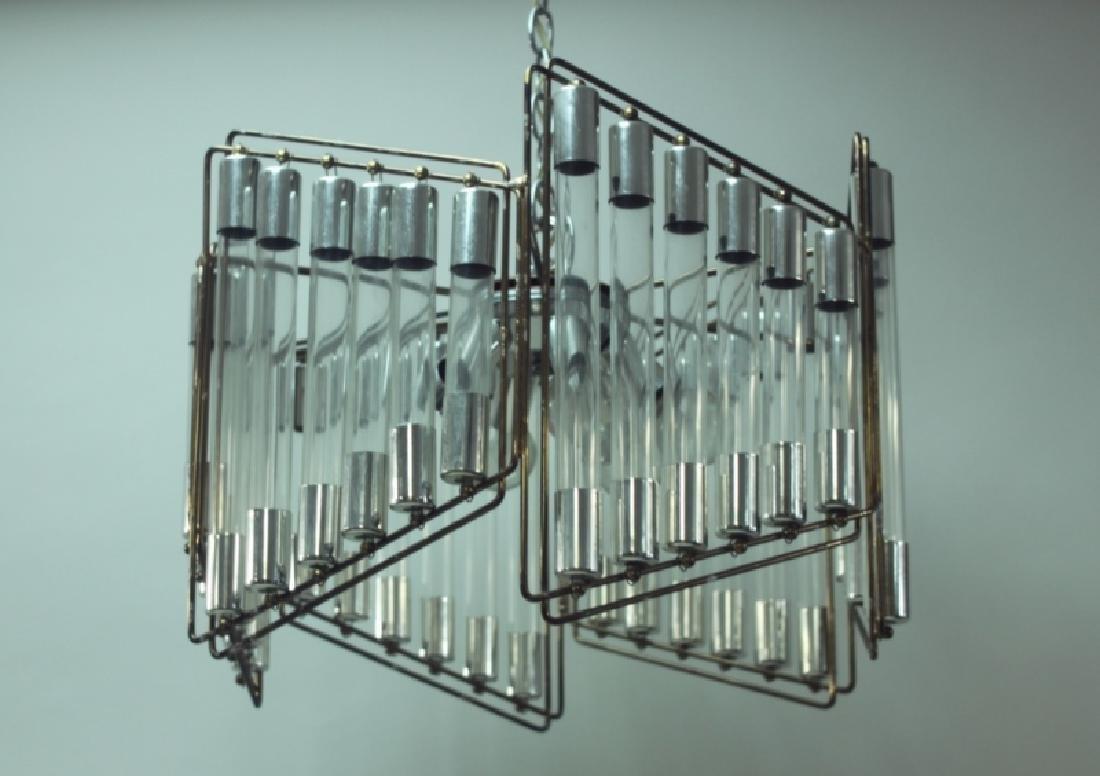 Gaetano Scolari Modernist Hanging Light Fixture - 3