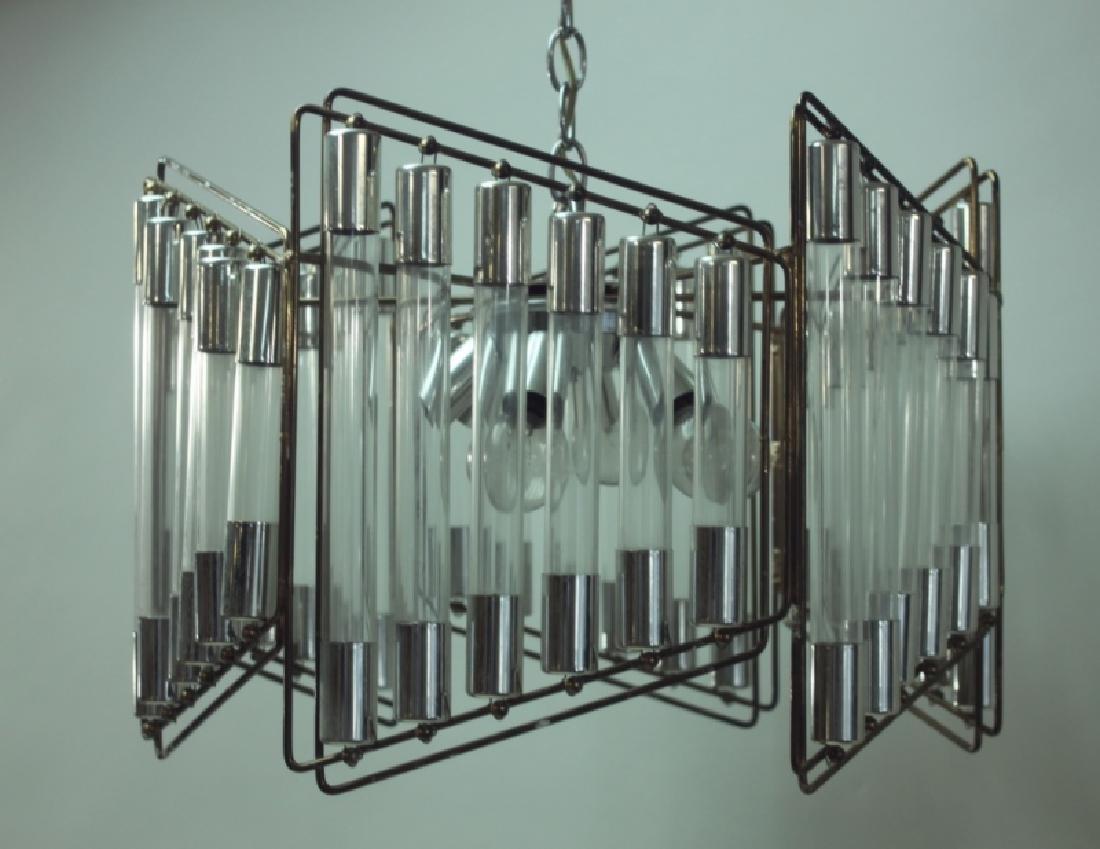 Gaetano Scolari Modernist Hanging Light Fixture - 4