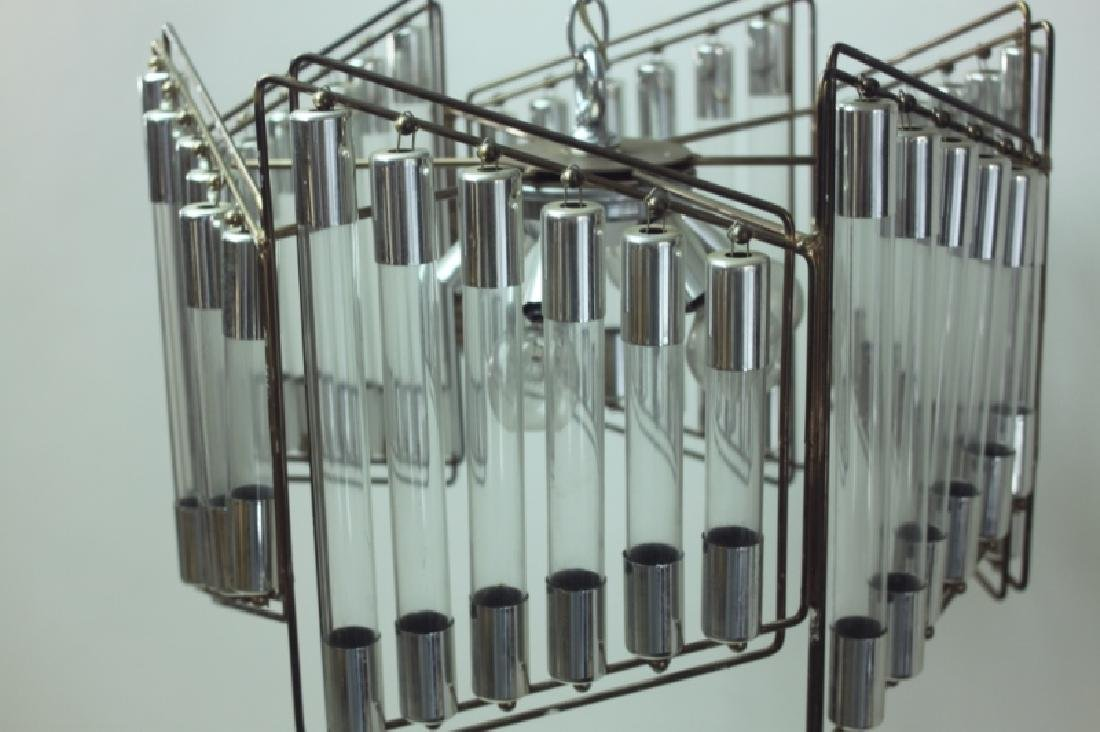 Gaetano Scolari Modernist Hanging Light Fixture - 5