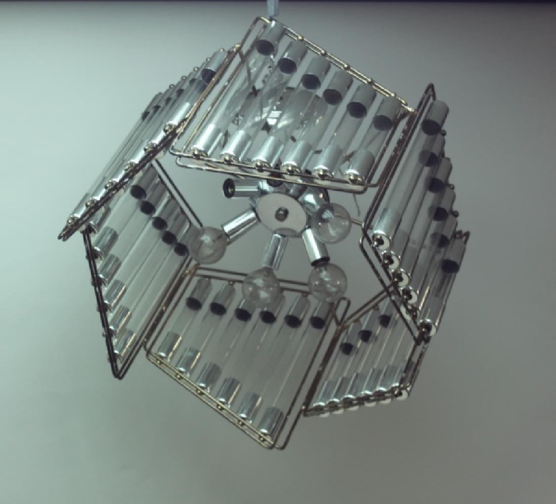 Gaetano Scolari Modernist Hanging Light Fixture - 6