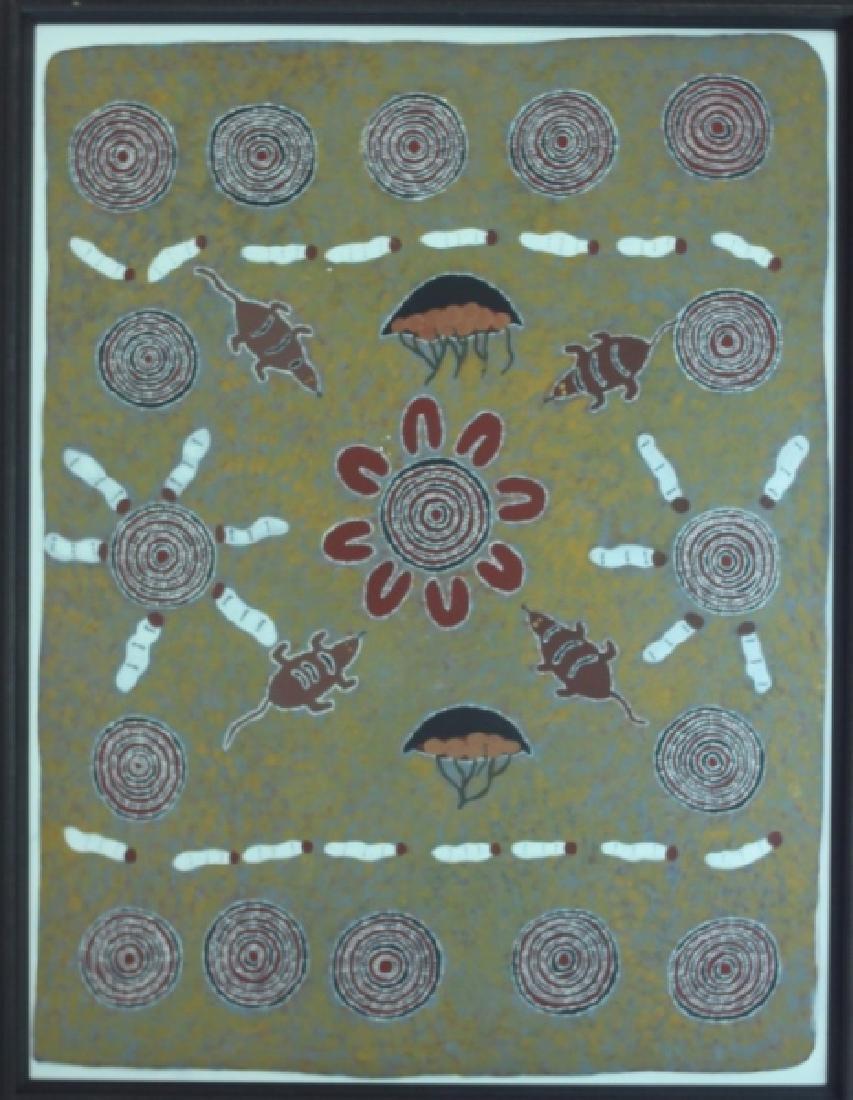 Huge Australian Aboriginal Contemporary Painting