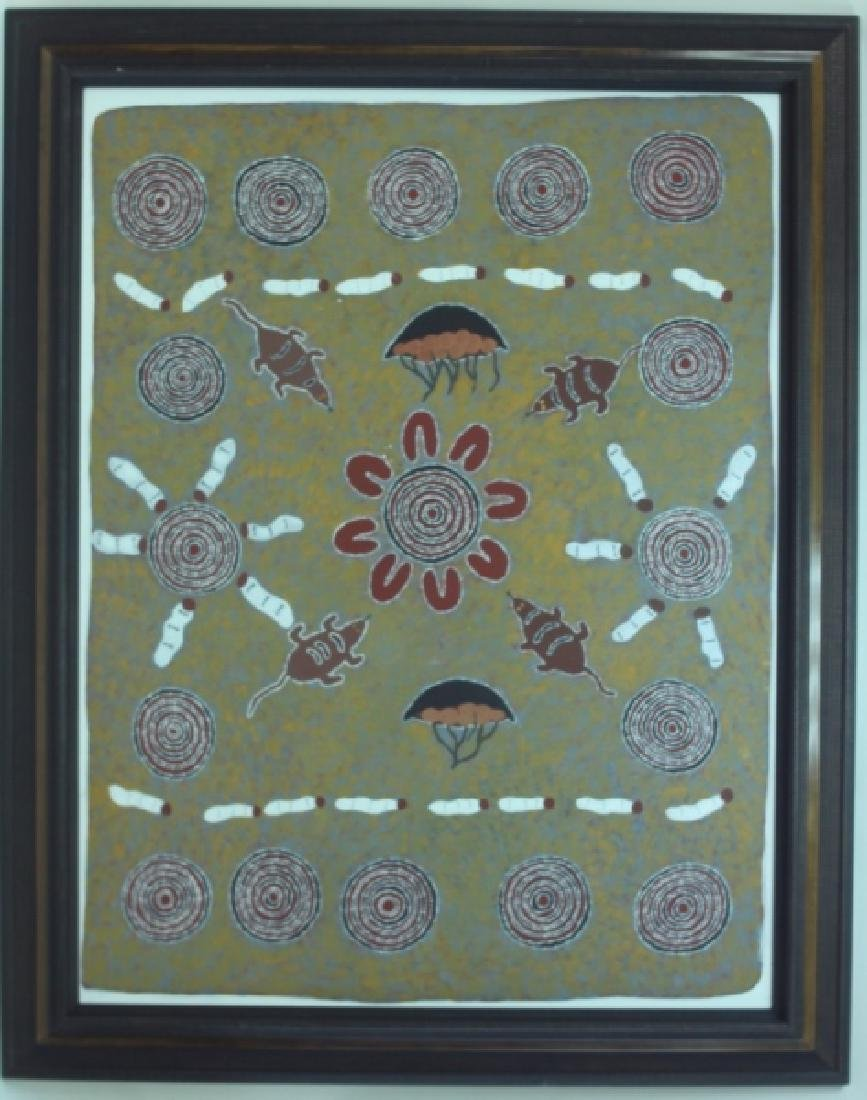 Huge Australian Aboriginal Contemporary Painting - 2