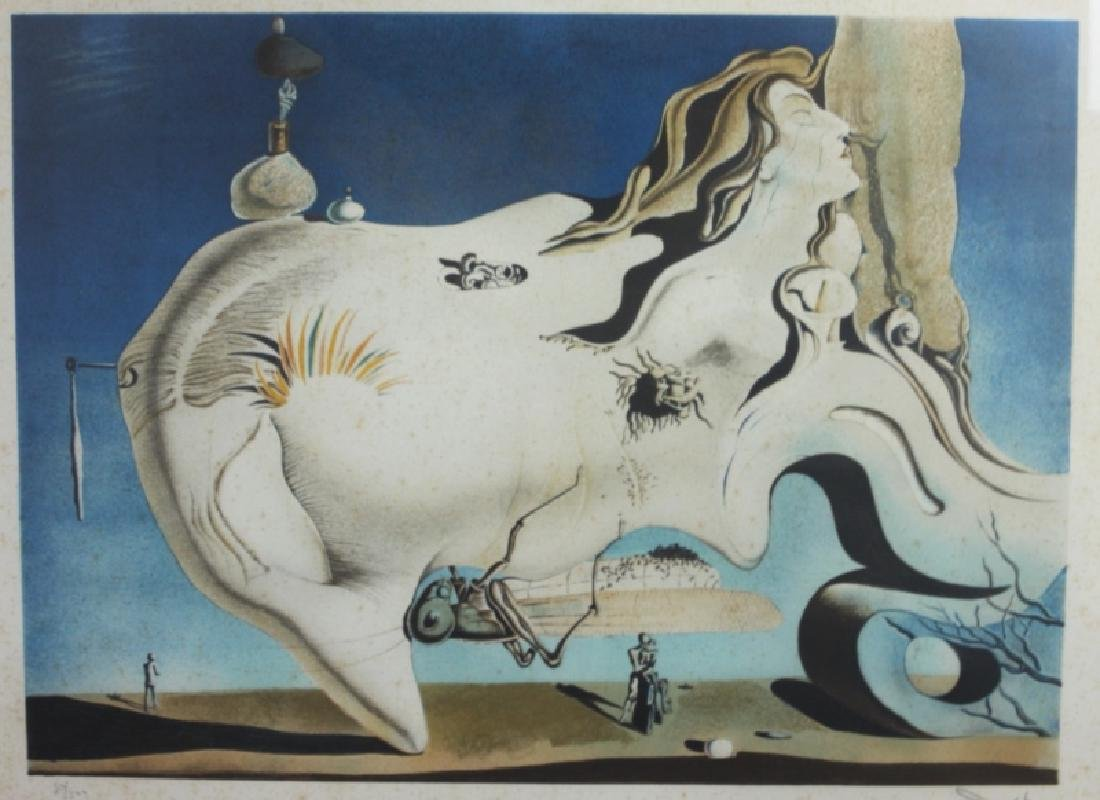"Salvador Dali ""The Great Masturbator"" Signd 50/300 - 3"