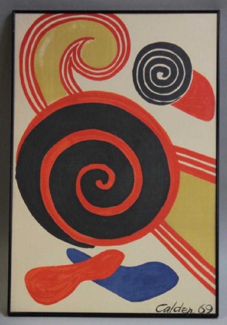 """Alexander Calder (1898-1976) Litho """"Espirales"""" - 2"""